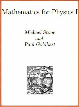 Download Mathematics for Physics I pdf -Michael Stone