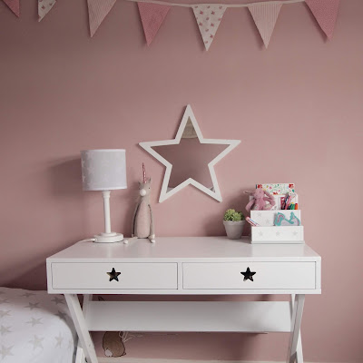 GLTC Star Bright desk, mirror, lamp and desk tidy