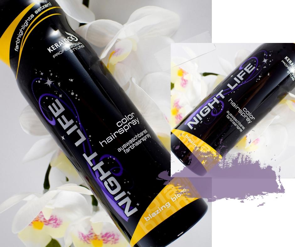 Keralock Night Life Haarspray Color, Beautypress Newsbox
