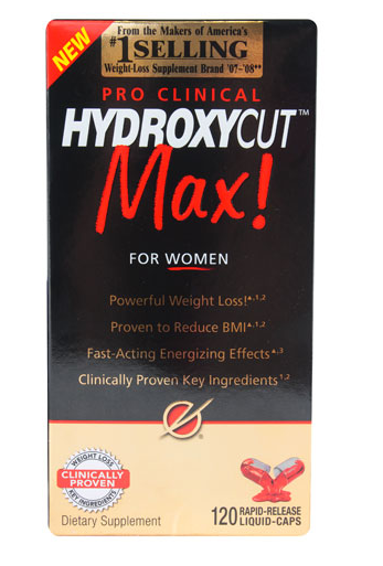 Acidain : Hydroxycut Pro Clinical Max For Women -- 120