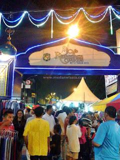 Berdesakan di Ramadhan Fair 2015 Medan