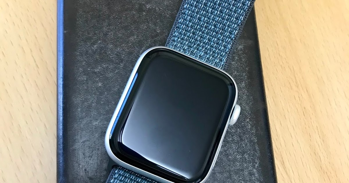 Storm Gray Sport Loop Watch Band from Apple for the Apple Watch