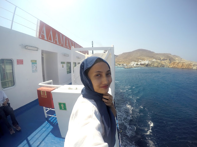 REVIEW: Ferry ke Santorini
