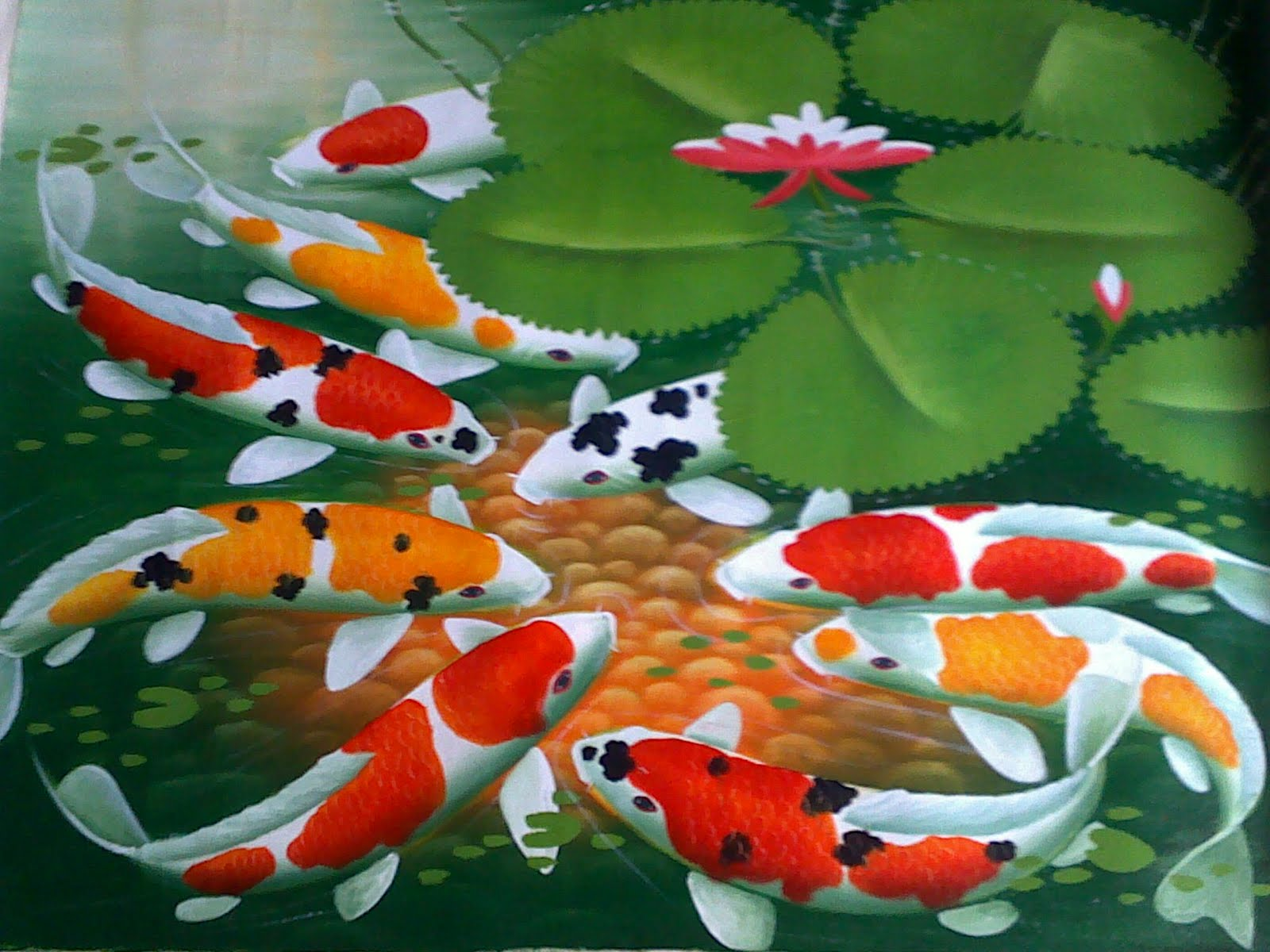 kuya batok: koi fish