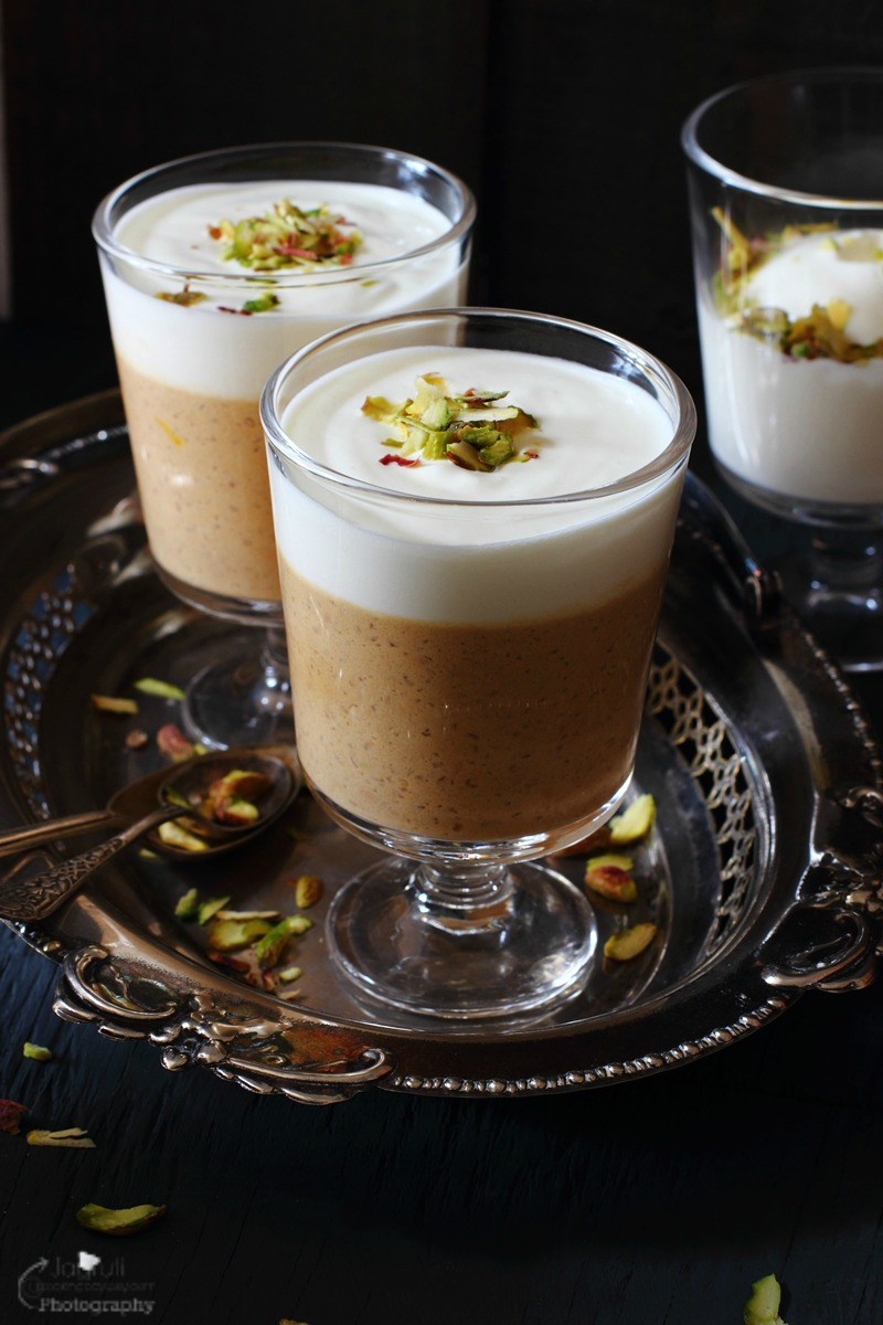 Creamy Caramel Phirni