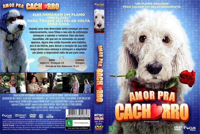 Capa DVD Amor Pra Cachorro