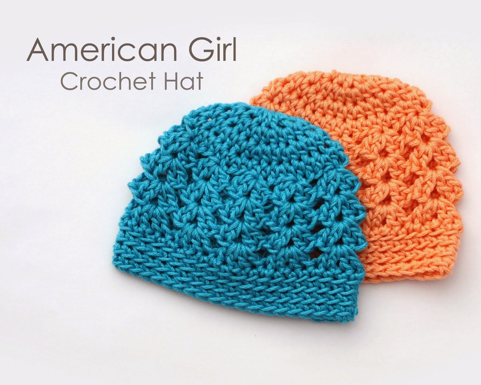 TUTORIAL  American Girl Crochet Hat c368da24c17