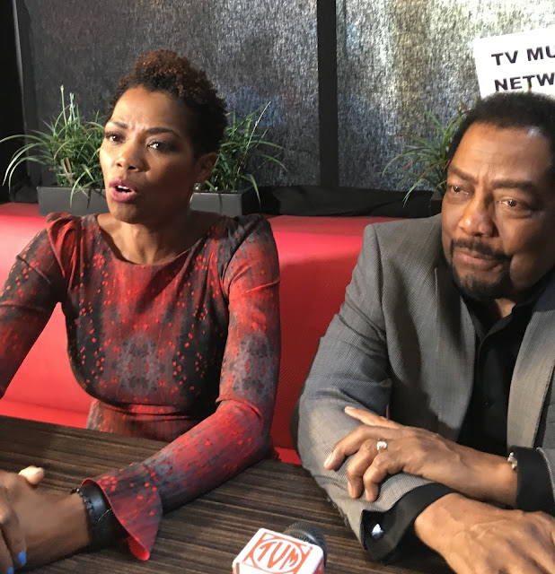Video Interview: chatting with 'Days of our Lives' Vanessa Williams and James Reynolds