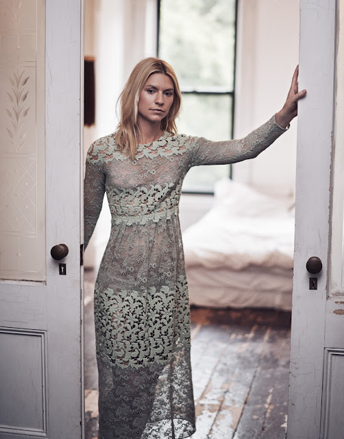 Burberry Prorsum dress - Claire Danes in The Edit Magazine by Steven Pan - Cool Chic Style Fashion
