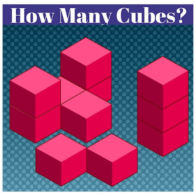 How many cubes are there in figure?