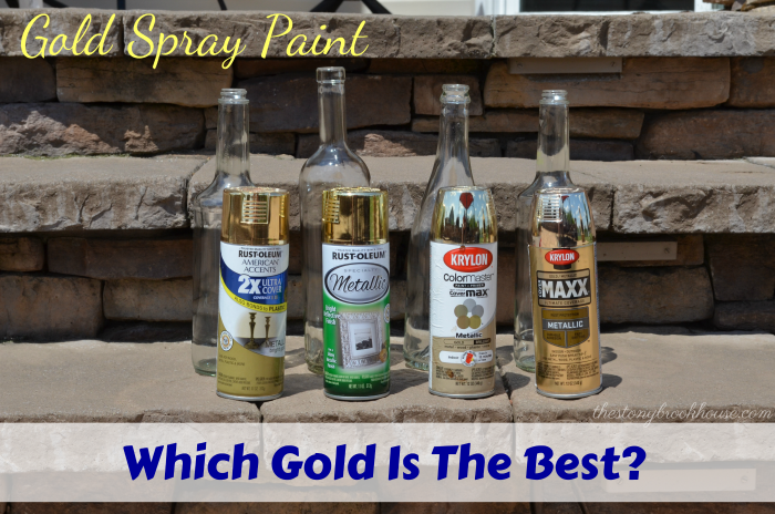 gold spray paint options