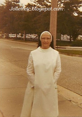 "Sr. Vincent Carmel ""Sadie"" Byrnes Aug 1969 https://jollettetc.blogspot.com"