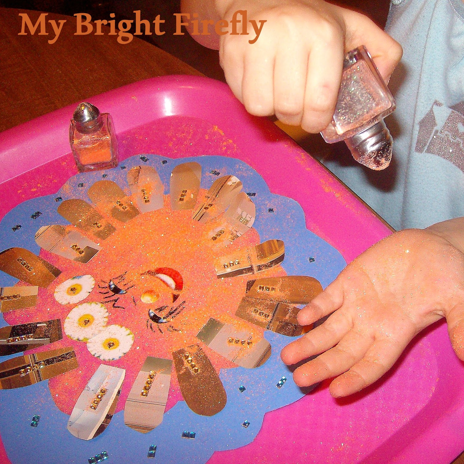 My Bright Firefly Sunshine And Rainbows Collage And Play