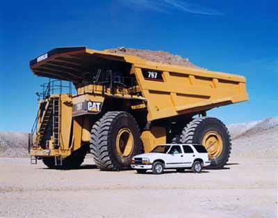 Mobil Terbesar di Dunia