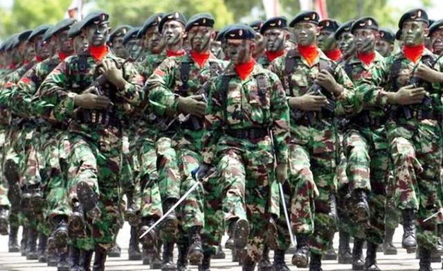 Syarat Tinggi Badan Masuk TNI AD, AL dan AU