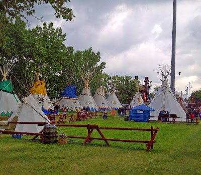 L I V E Teepees At Calgary Stampede 2011