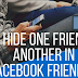Hide Friend On Facebook