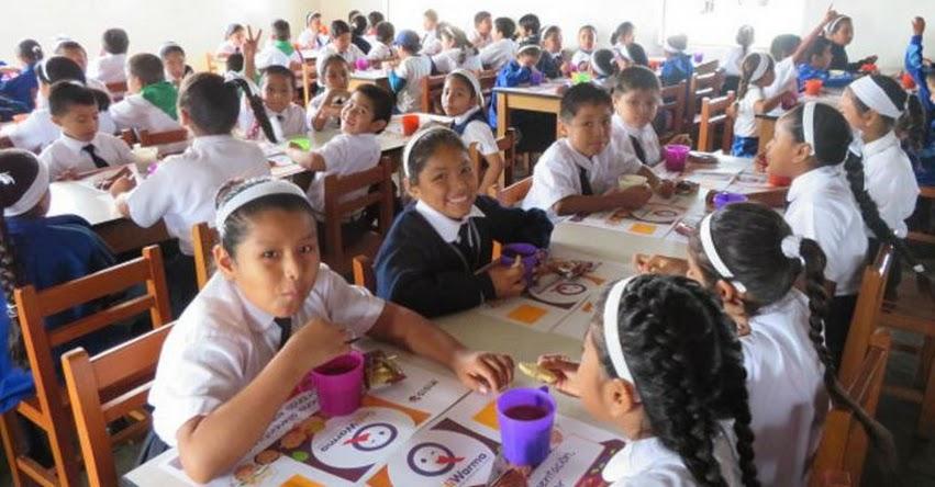 QALI WARMA: Programa social atiende con alimentos nutritivos a 104,500 escolares de Ica - www.qaliwarma.gob.pe