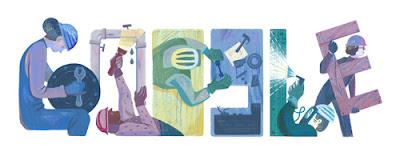 Google Doodle Turut Merayakan Hari Buruh 2016