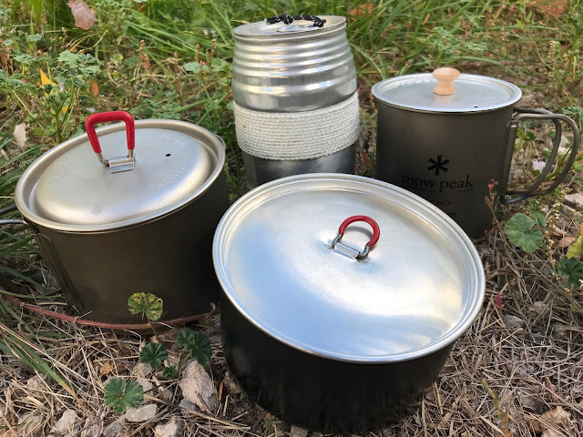Lightweight Backpacking Pots and Mugs