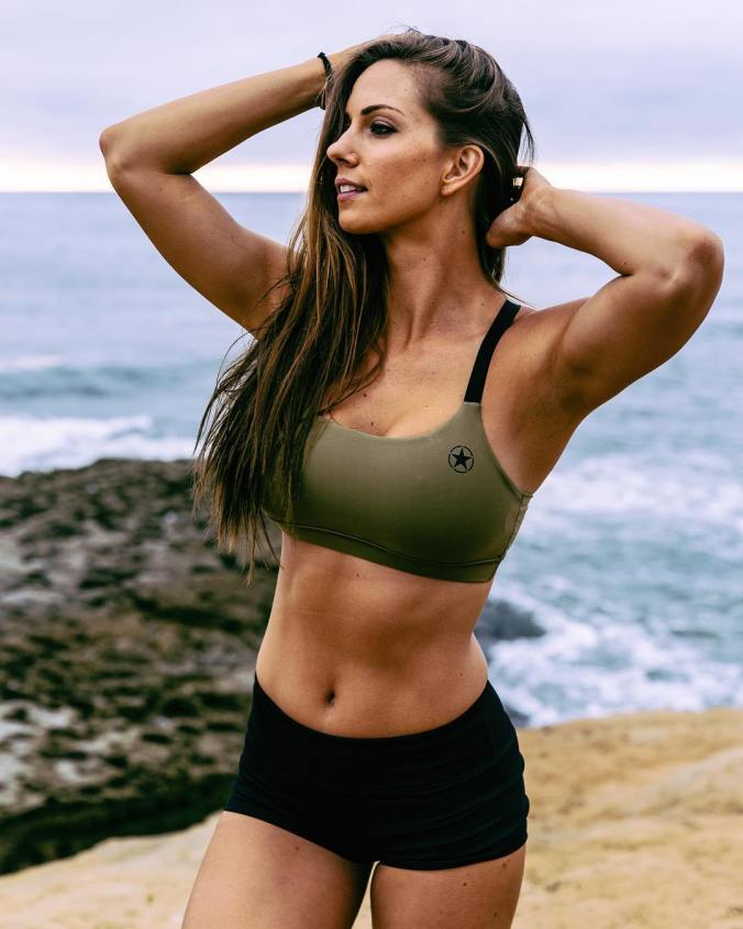 Fit Hot Girls Pictures: Workout Shorts Beautiful Gym Woman Photos