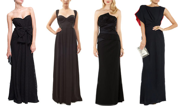 Evening Dresses Black Tie Affairs