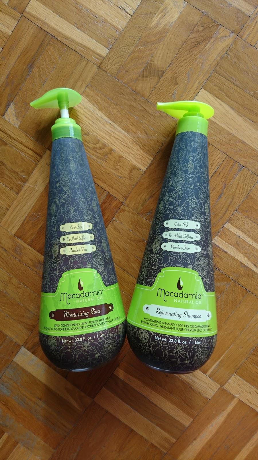 Macadamia Moisturizing Rinse & Rejuvenating Shampoo