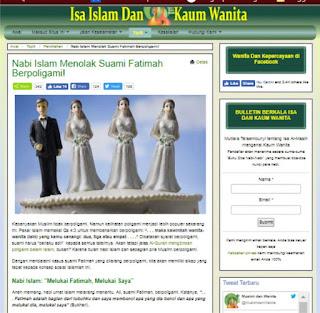 Menjawab Tudingan Nabi Muhammad  SAW tidak membela hak  wanita dalam poligami