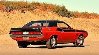 1970 Dodge Challenger TA 340 Six Pack Rear Side