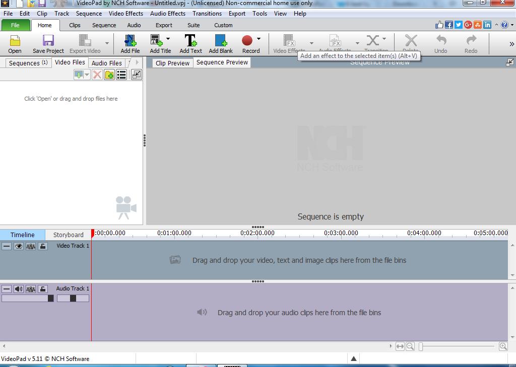 تحميل برنامج Videopad لتحرير الفيديو والكتابة على الفيديو
