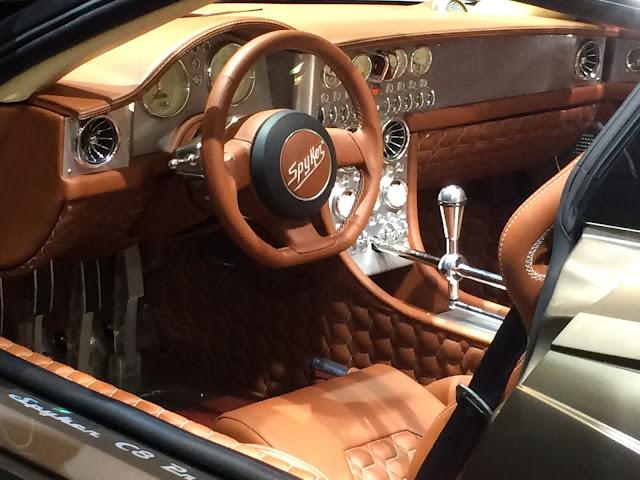 Spyker C8 Preliator intérieur