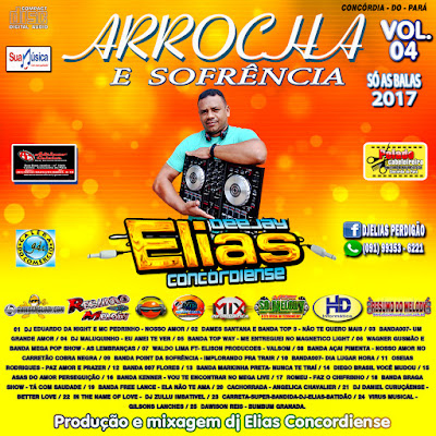 Cd de Arrocha E Sofrência Vol. 04 : Abril 2017