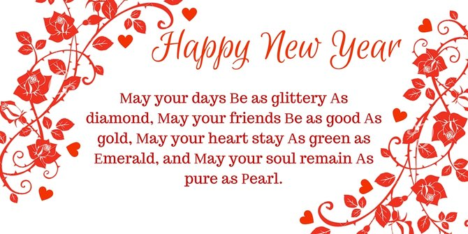 Happy New Year Shayari 2018 Message