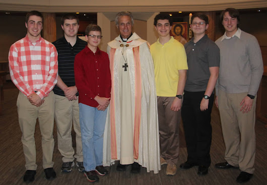 6 Knights become Oblates of Saint Benedict