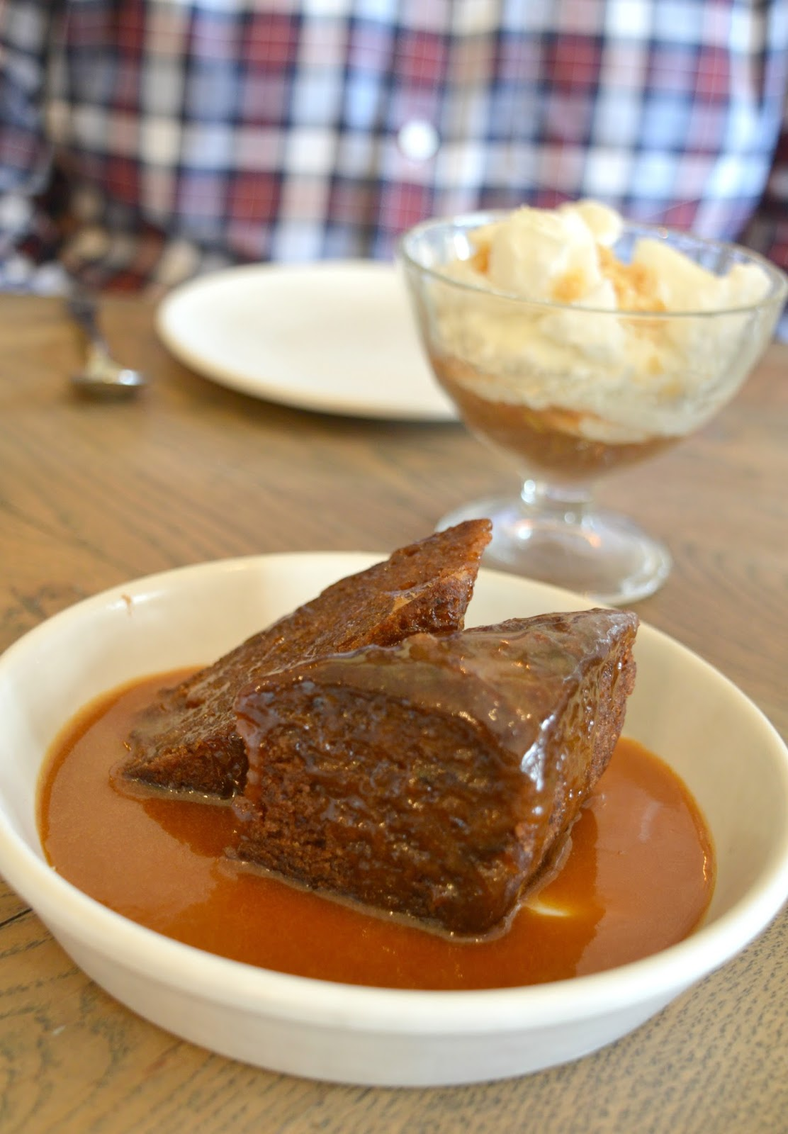 Sunday Sharing Lunch at the Lord Crewe Arms - Sticky Toffee Pudding