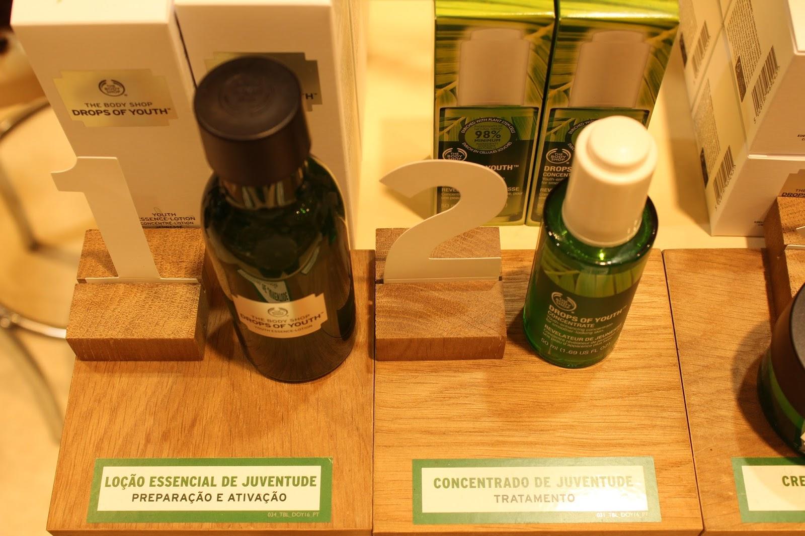 Enfrente pacotes contra a dermatite