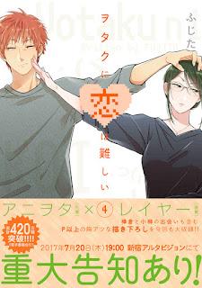 """Confirmada la adaptación anime para el manga """"Otaku ni Koi wa Muzukashii"""" de Fujita"""