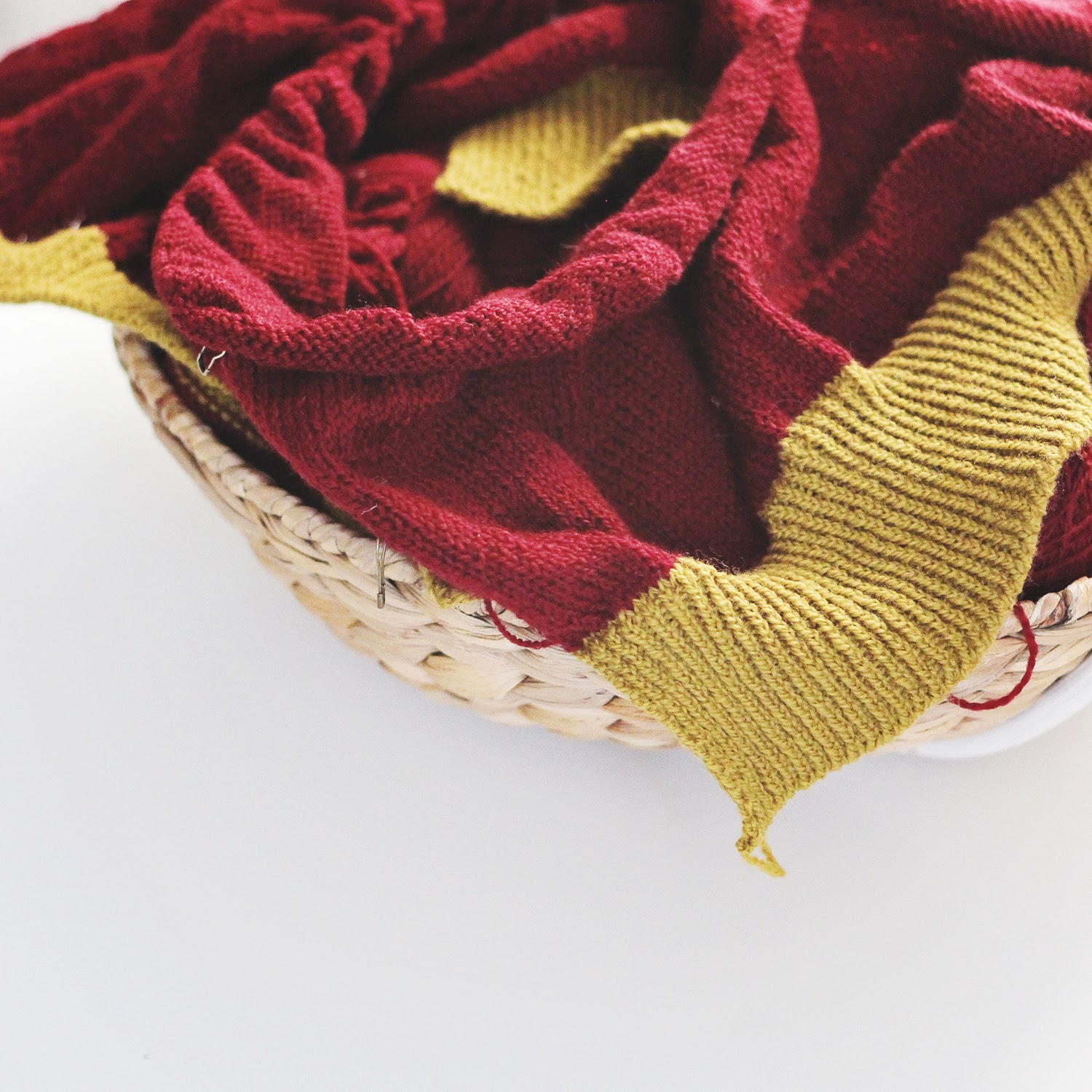 Two shade Strathendrick | A sweater for Yarndale