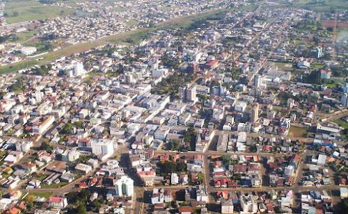Vacaria, foto aérea