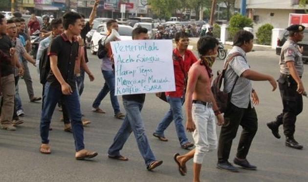 Forum Ummat Islam di Aceh Singkil Desak Bupati Mundur
