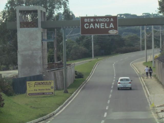 Canela/RS entrada