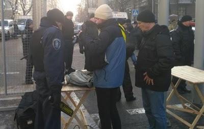 Протести в Києві: поліція знайшла зброю