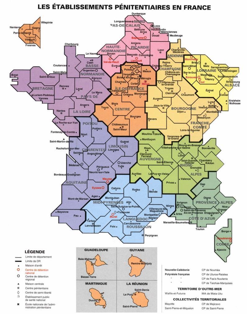 Tulles Ville Carte De France