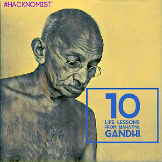 10 lessons from Mahatma Gandhi that everyone should follow in their lives