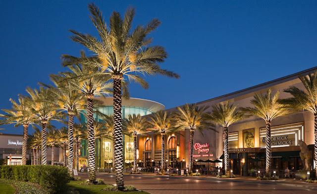 Lojas do Shopping Mall at Millenia em Orlando