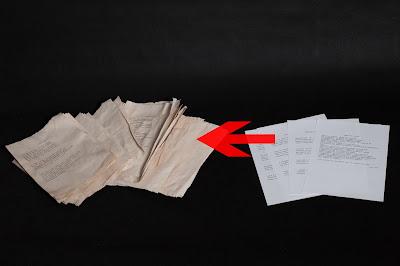 jak postarzyć papier