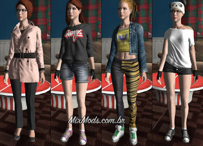gta sa mod female player cj mulher roupas