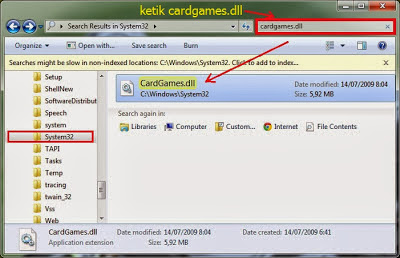 Cara Main Game Windows 7 di Windows 8