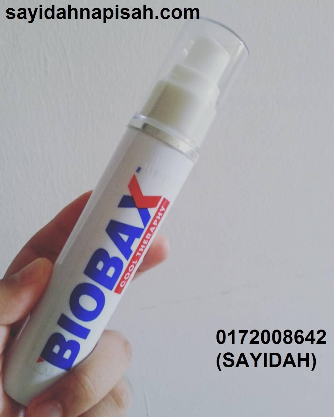 kakyong baru cuba sekali Biobax, terus beli satu dan jadi dropshipper Biobax!