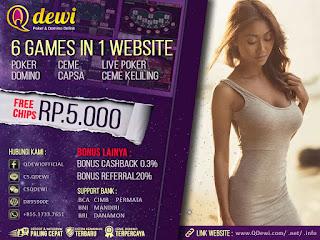 Cara Ampuh Menang Judi Poker Online Server IDN Play QDewi.net